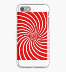 Red Swirl iPhone Case/Skin