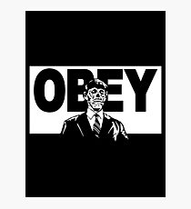 Obey - They Live Photographic Print