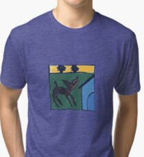 DOG HOUSE ART Tri-blend T-Shirt