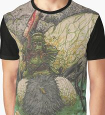 Demon lord on Giant fly Graphic T-Shirt