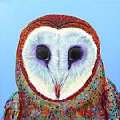 Barn Owl at Bob's by Jacqueline Eden