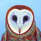 Barn Owl at Bob's by Jacqueline Eden