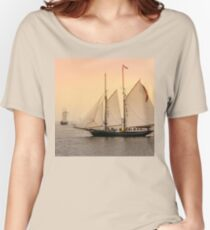 Morning of Glory 2 - Sail Boston 2017 Women's Relaxed Fit T-Shirt