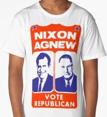 NIXON/AGNEW 1968 Long T-Shirt