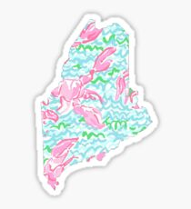 Lilly Pulitzer - Maine Lobstah Roll Sticker