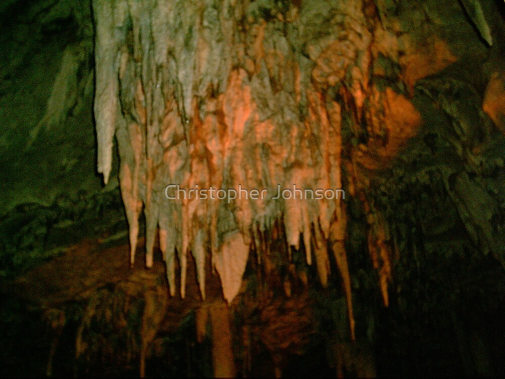 Grutas De La Estrella - Cave Formation 9 by Christopher Johnson
