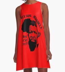 NELSON MANDELA MUST BE SET FREE! A-Line Dress