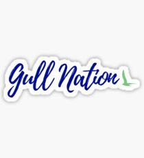 Endicott College - Gull Nation Sticker