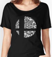 Super Smash Bros. Logo Women's Relaxed Fit T-Shirt