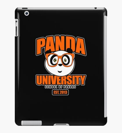 Panda University - Orange 2 iPad Case/Skin
