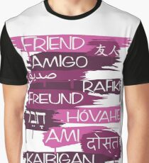 Friends From Other Ends - Purps Them Graphic T-Shirt