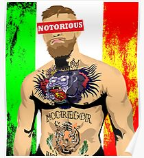 NOTORIOUS- Conor McGregor Poster