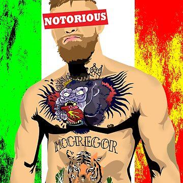 NOTORIOUS- Conor McGregor by rsolisarroyo