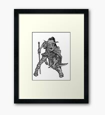 Goblin warrior Framed Print