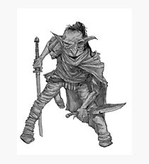 Goblin warrior Photographic Print