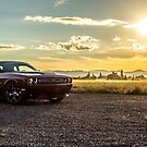 2017 Dodge Challenger 5.7 Hemi Octane Red 5 Sunset edition  by SD 2016 Photography & Art Creations