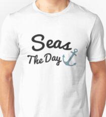 Seas The Day T-Shirt Funny Cruising Unisex T-Shirt