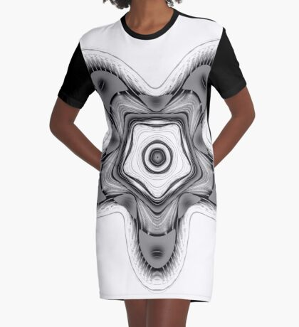 Amoeba 16 Graphic T-Shirt Dress