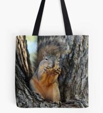 Squirrely Squints Tote Bag