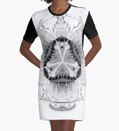 Amoeba 20 Graphic T-Shirt Dress