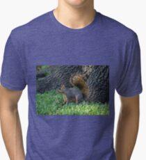 Bright Eyed & Bushy Tailed Tri-blend T-Shirt