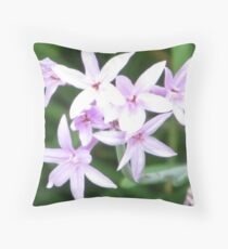 Flowers Of The World Throw Pillow