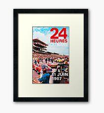 24hs Le Mans 1967 Framed Print