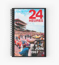 24hs Le Mans 1967 Spiral Notebook