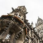Marvelous Munich - Ornate Neo-Gothic Architecture of Neues Rathaus or New Town Hall  by Georgia Mizuleva