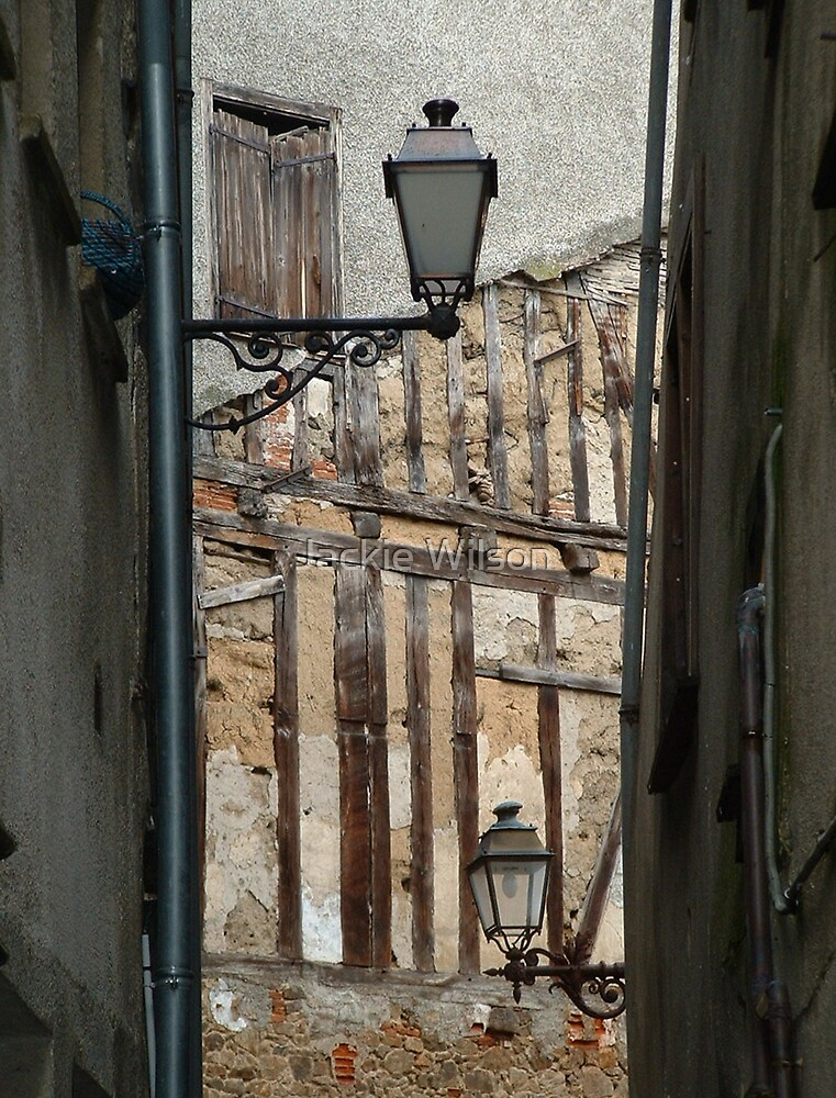 Found this delightful lane in France. by Jackie Wilson