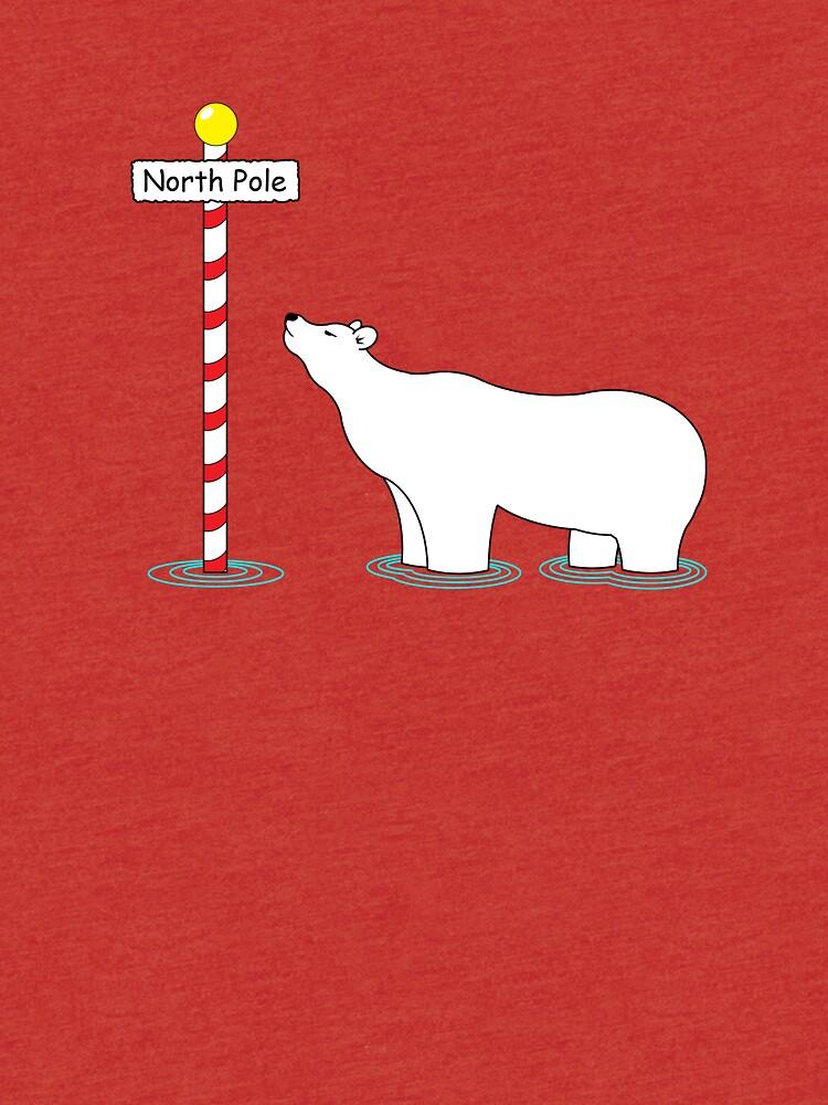 Paddling at the pole. by MrBanana