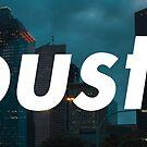 Houston Box Logo von JERRYWEST