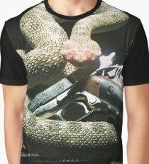SnakeOneBlack T-shirt graphique