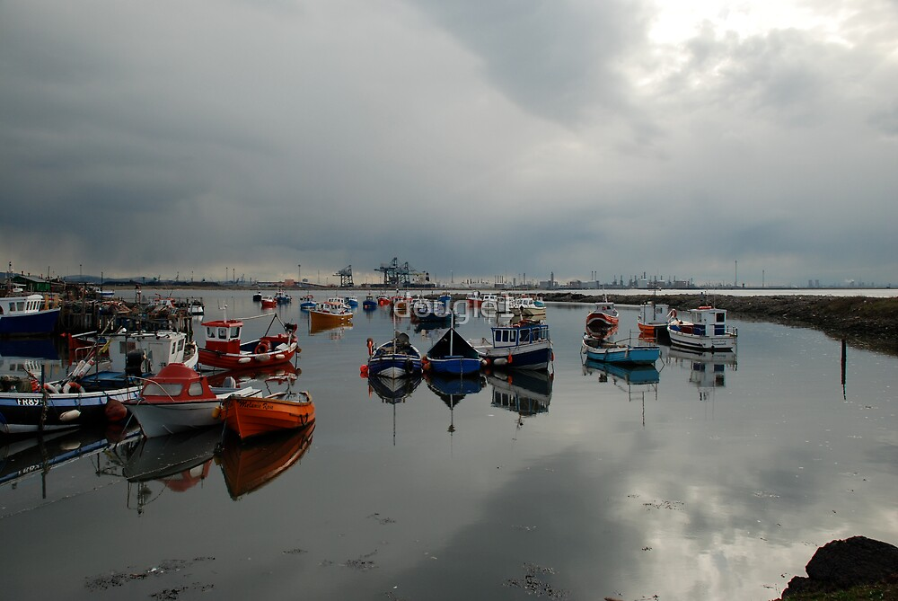 Paddy's Hole at South Gare by dougie1
