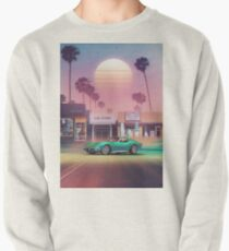 Synthwave Sunset Drive Pullover