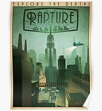 "Bioshock: ""Explore the depths"" Poster"