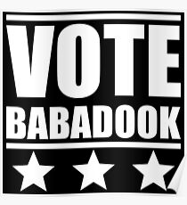 Vote Babadook Poster