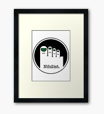 Nihilist Framed Print