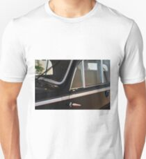 Side doors and windscreen of classic vintage black car T-Shirt
