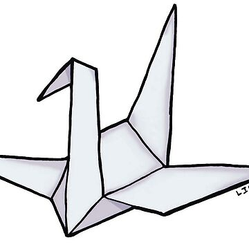 Origami crane by LuccioB
