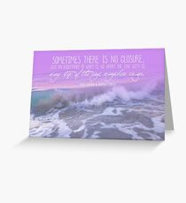 Lost For Words - January 2015 Greeting Card