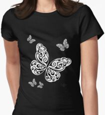 Butterfly Group Womens Fitted T-Shirt