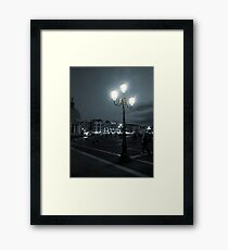 Lantern in Venice Framed Print
