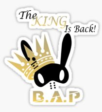B.A.P - The King is Back! Sticker