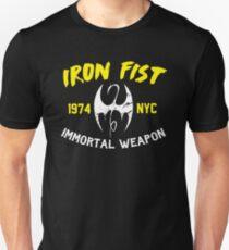 the iron fist blk  Unisex T-Shirt