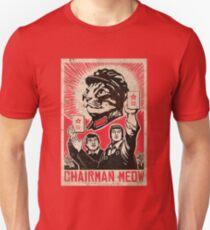 Camiseta ajustada Meow Mao China gato meme