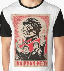 Meow Mao China cat meme Graphic T-Shirt