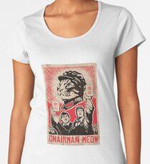 Meow Mao China cat meme Women's Premium T-Shirt