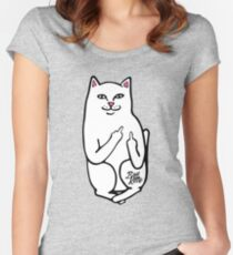 Bad Kitty Women's Fitted Scoop T-Shirt