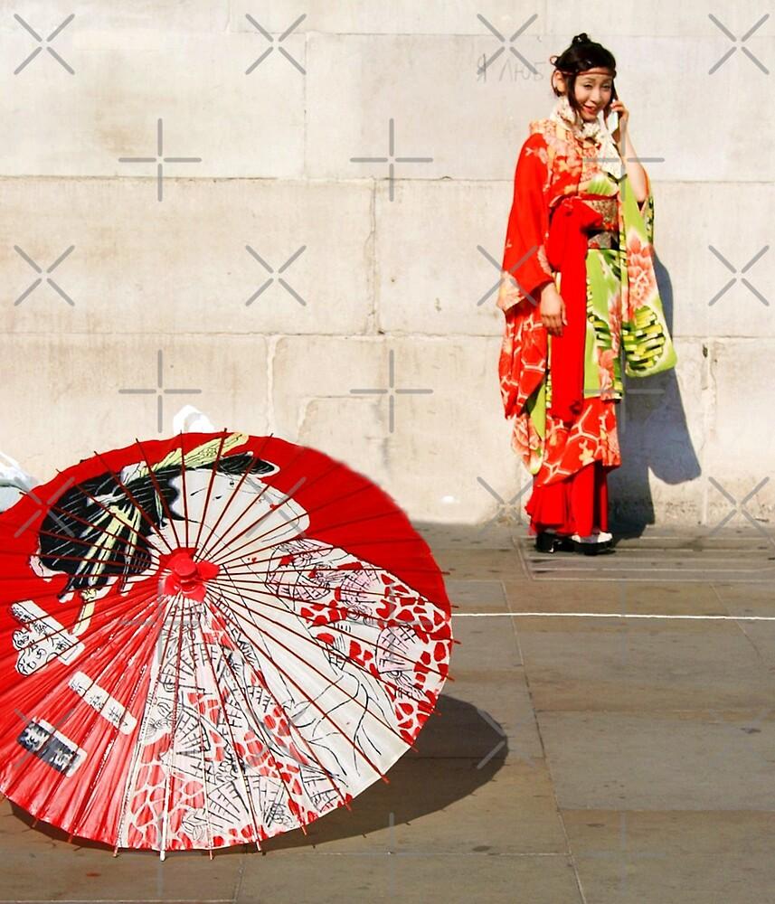 London meets Japan by Nonsense Tees & Tings